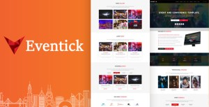Eventick - Event & Conference HTML Template