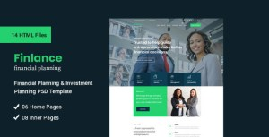 Finlance - Financial Planning and Investment HTML Template