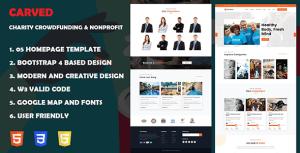Getfund - Nonprofit, Crowdfunding & Charity HTML5 Template