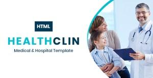 HealthClin - Medical Clinic & Hospital HTML Template