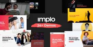 Implo - Corporate, Business, Portfolio and Niche Multi-purpose Template