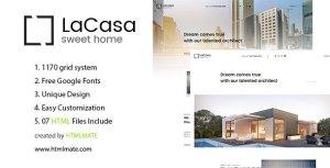LaCasa – Real Estate HTML Template