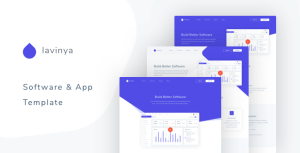 Lavinya - Software and App Template