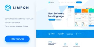 Limpon - Software Landing HTML Template