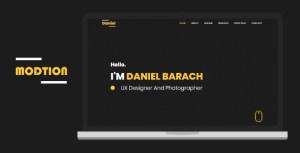 Modtion - Creative One Page Personal