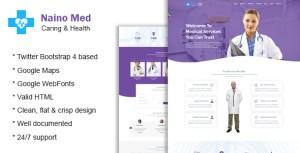 Naino Med - Health and Medical HTML Template