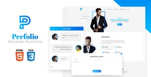 Perfolio - Personal HTML Template