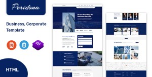Peridona - Complete Business and Corporate Html Template