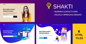 Shakti - Creative Digital Agency HTML Template
