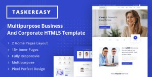 Taskereasy - Multipurpose Business & Corporate HTML5 Template