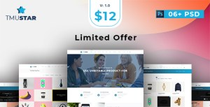 Tmustar | Multi-Purpose PSD Template