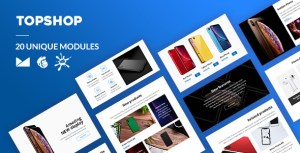 TopShop Email-Template + Online Builder