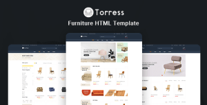Torress - Furniture HTML Template