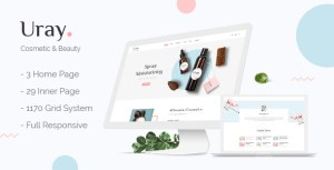 Uray - Cosmetic & Beauty Shop HTML5 Template