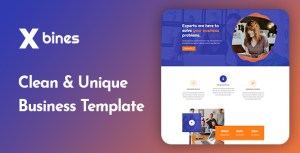 Xbines - Corporate and Business HTML5 Template