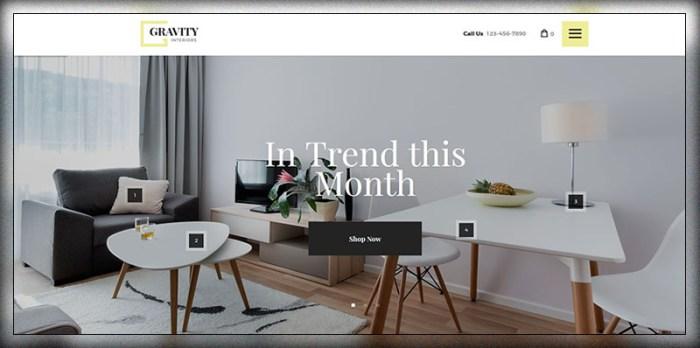 Gravité   Design d'intérieur et magasin de meubles