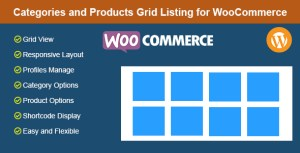 Categories and Products Grid Listing for WooCommerce