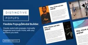 Distinctive Popups - Flexible Popups/Modals WordPress Plugin