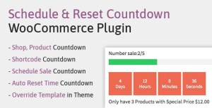 Schedule, Reset Countdown Plugin WooCommerce | WooCP