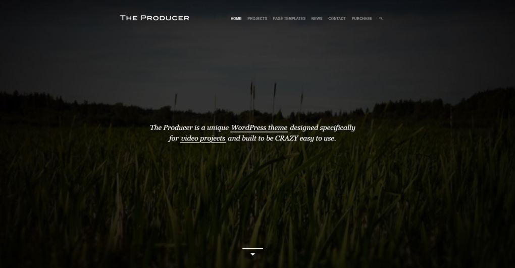 Le thème du producteur