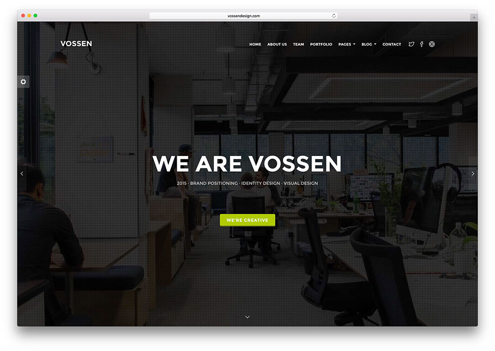 vossen-fullscreen-multipurpose-html5-website-template