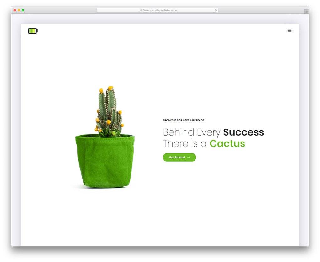 cellon free mobile-friendly website template