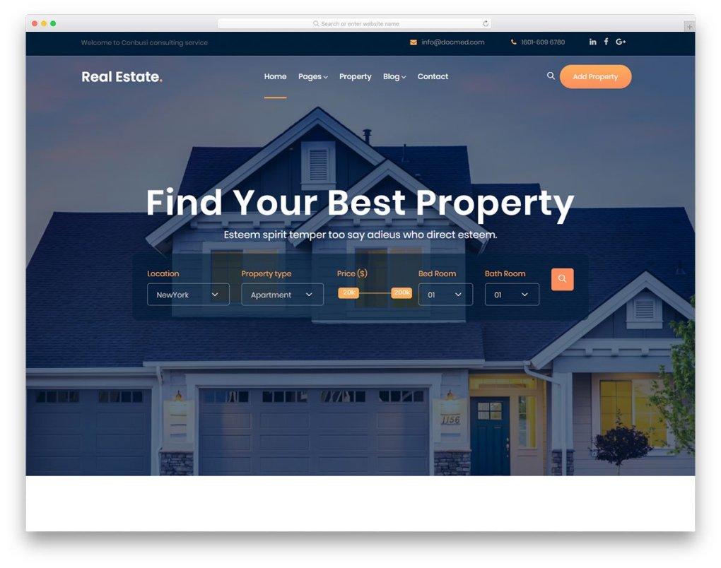 Modèle gratuit de immobilier 2