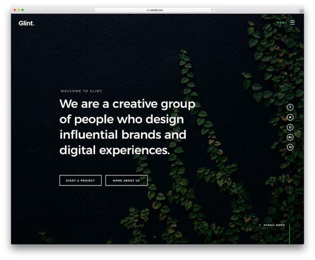modèle de site Web de photographie gratuit