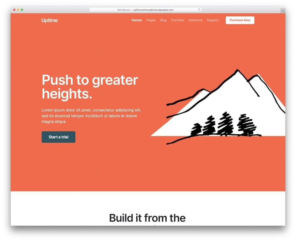 modèle de site Web adapté aux mobiles
