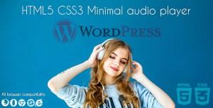 Minimal Audio Plugin WpBakery Addon