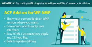 WP AMP ACF (Add-on)
