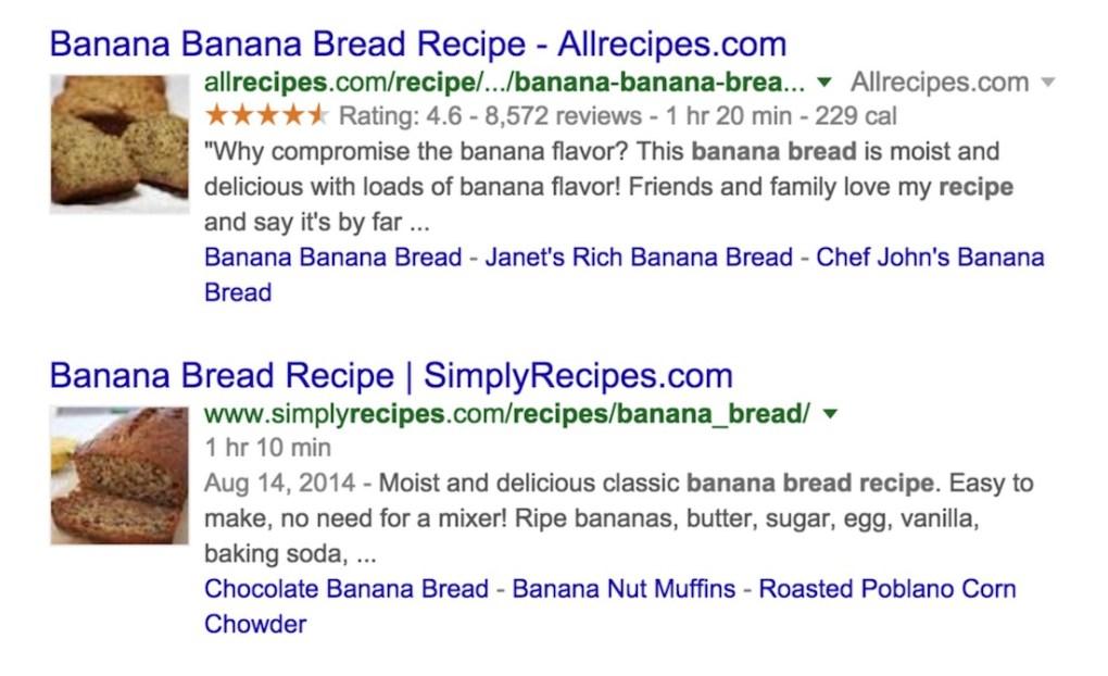Extrait de recette SEO plugin wordpress