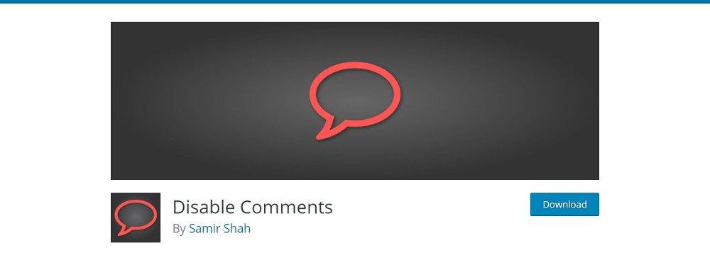 Désactiver les commentaires