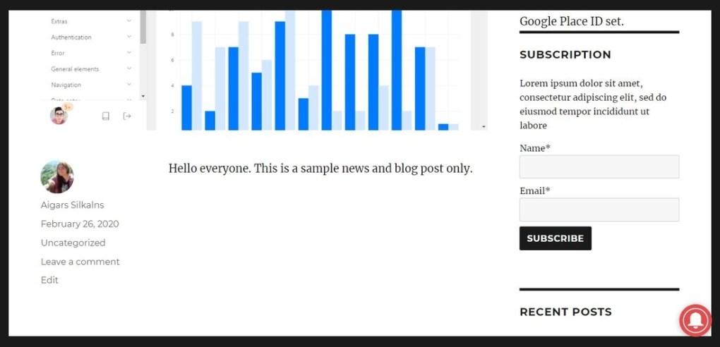 Abonnés aux e-mails et newsletters - Page de démonstration du système de newsletter simple et efficace