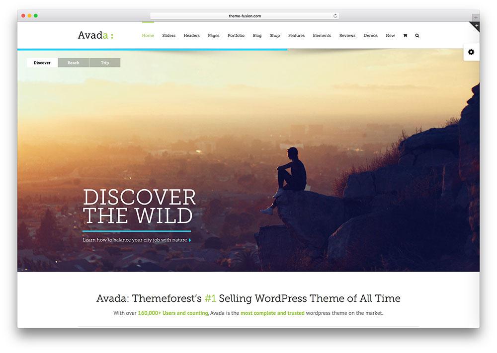 avada-thème polyvalent-plein écran-wordpress