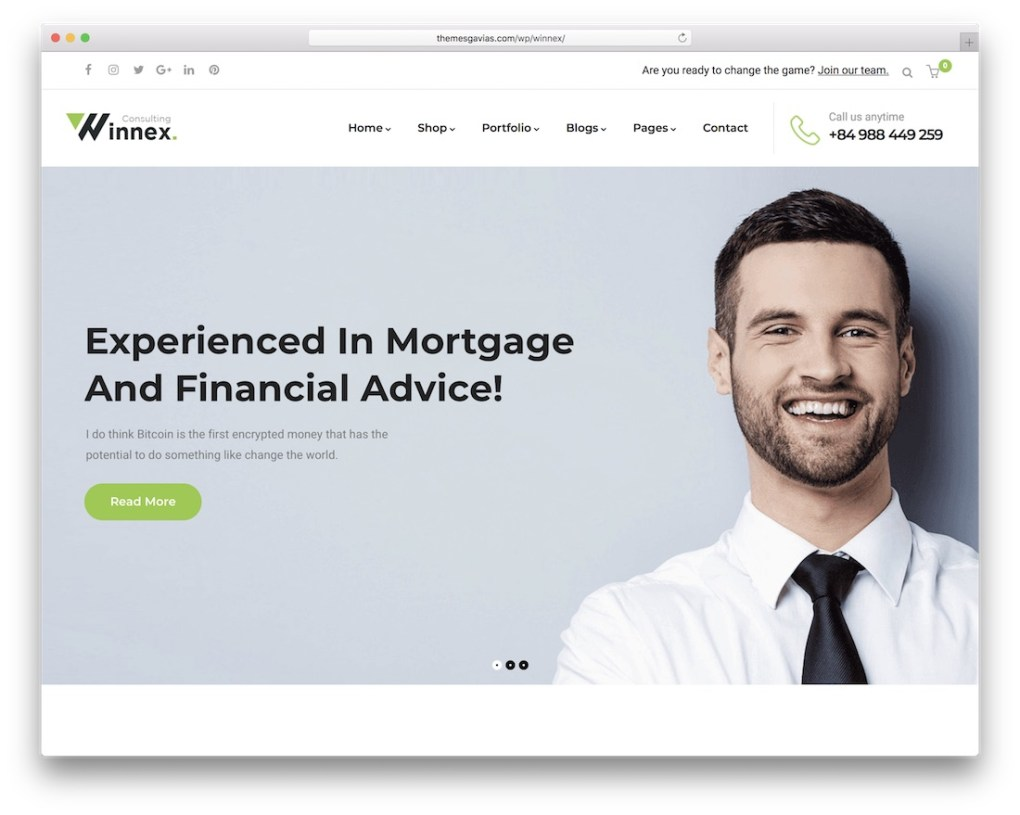 thème d'assurance kormo wordpress