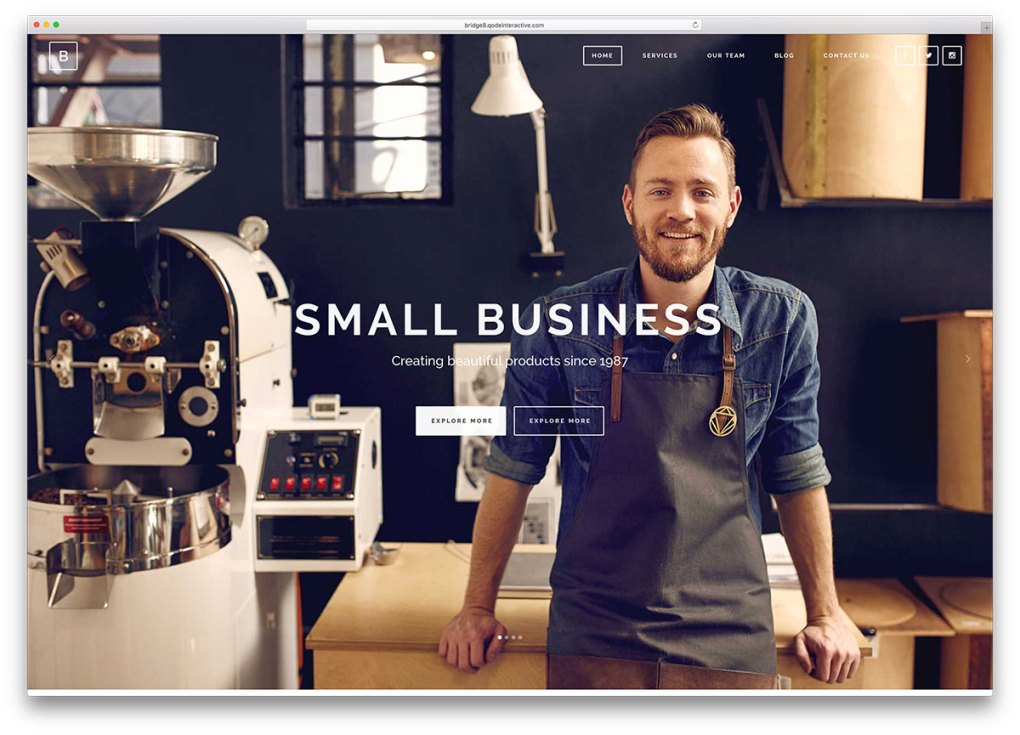 bridge-small-local-business-wordpress-themes