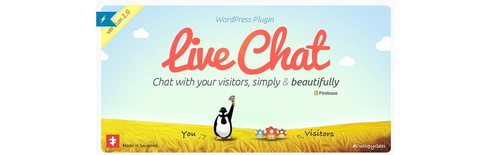 Plugin de chat en direct WordPress