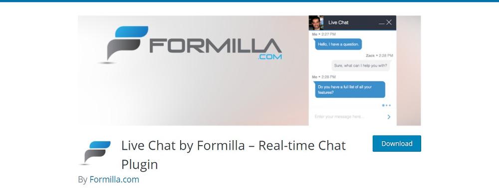 Chat en direct par Formilla