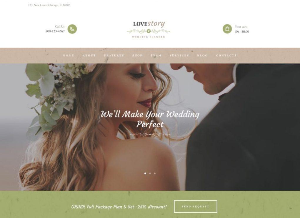 Thèmes WordPress matrimoniaux