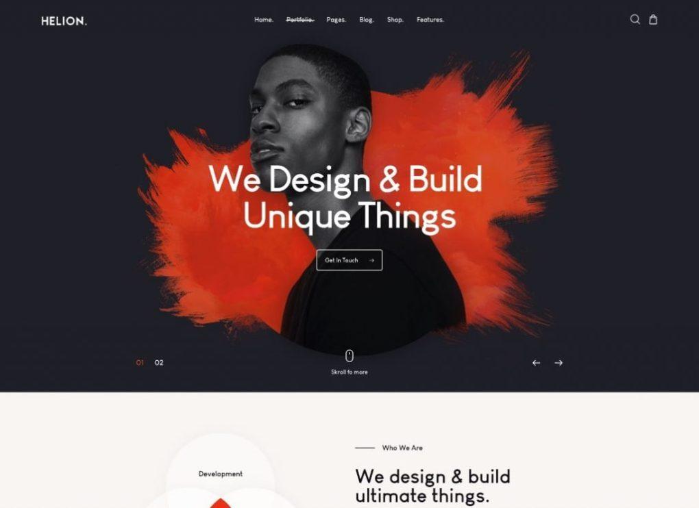 Portfolio créatif Thème WordPress + Boutique