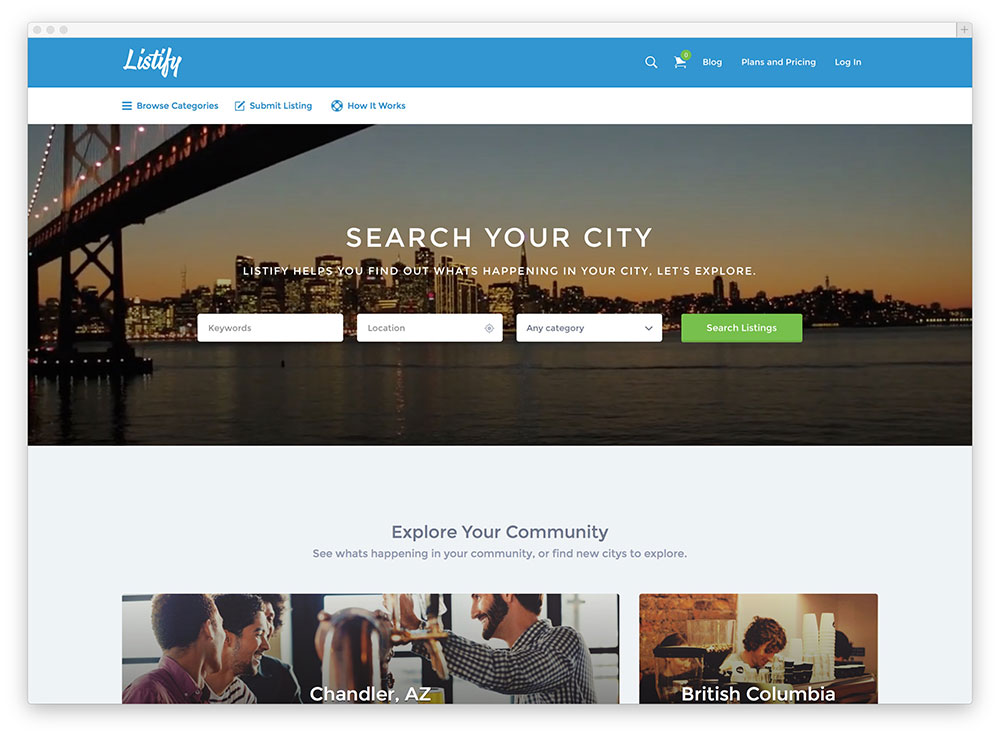 listify business directory theme