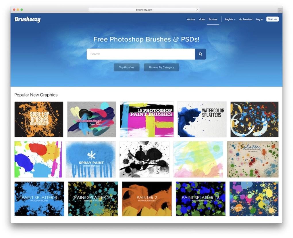 Brusheezy Pinceaux Photoshop gratuits