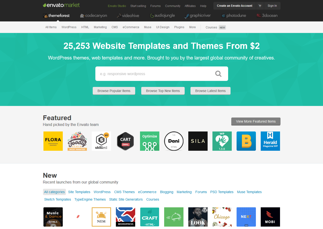 10 Best Bootstrap Themes Templates Marketplaces To Buy