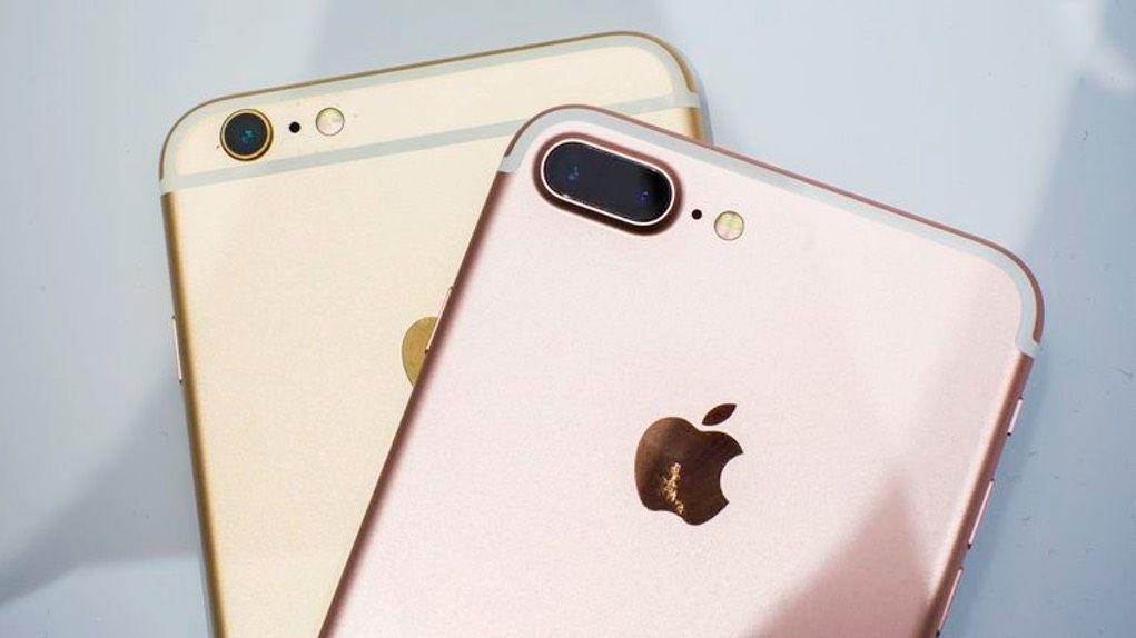 iPhone 7 Plus vs iPhone 6s Plus