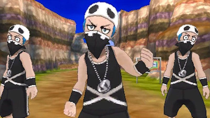 Team Skull en Pokémon Sol y Luna