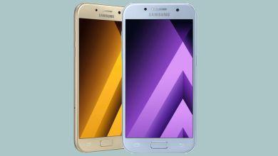 Samsung Galaxy A5 y A3 2017