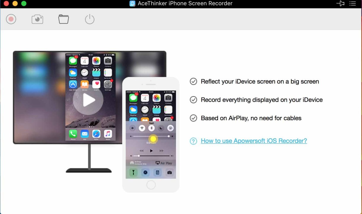 AceThinker iPhone Screen Recorder