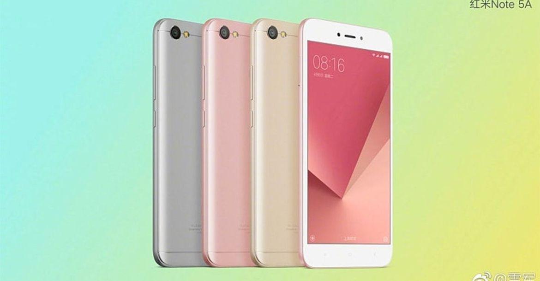 Xiaomi Redmi Note 5A y Note 5
