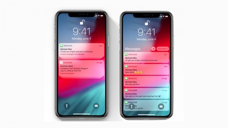 iOS 12 Notificaciones